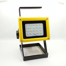 Portable Rechargeable 30W 20 LED Outdoor Camping Flood Light Spot Work Lamp Car