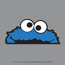 SKU2351 -  Cookie Monster Sesame St Peeper Sticker Badge - JDM VW DUB MINI