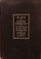 3 Plays By Leonid Andreyeff: The Black Maskers The Life of Man The Sabine Women!