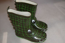 BOYS CHILDRENS CROCODILE WELLIES WELLINGTON BOOTS NEW SIZE 9 sale!