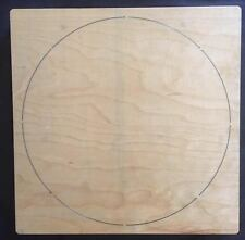 "12.5"" Circle wooden die fits Accucut Ellison Studio Machines"