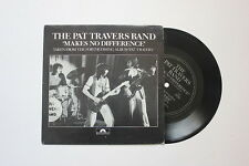 "The Pat Travers Band / Makes No Difference / 7"" Flexi Single / EX"