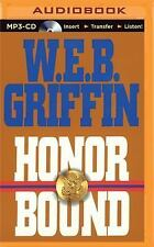 W E B Griffin HONOR BOUND Unabridged MP3-CD 21.5 Hour *NEW* FAST 1st Class Ship!