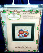 Creative Circle Bumpkins Joy To The World Cross Stitch Kit Fabrizio Christmas