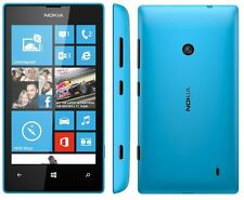 Nokia Lumia 520 8GB Unlocked Smartphone Microsoft Windows Phone 5MP Cyan