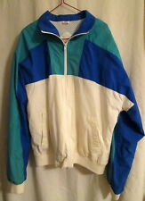 The Fox Collection Men's Nylon windbreaker lined jacket L*FREE SHIPPING* Nice
