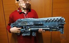 StarCraft 2 Terran Marine Gauss Machine Gun C14 Weapon Cannon Paper Model Kit