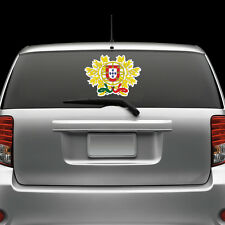 Portuguese Coat of Arms Windshield Sticker Decal Vinyl Large Portugal flag PRT