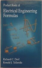 Pocket Book of Electrical Engineering Formulas by Richard C Dorf 1993 NEW