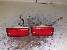 99 SUZUKI 300 KING QUAD 4X4 ATV TAILLIGHTS WITH  GOOD BULBS A214