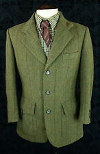 SUPERB MENS HUCKLECOTE TWEED NORFOLK SHOOTING HUNTING JACKET BLAZER 38 SMALL