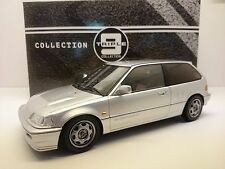 HONDA Civic EF9 SiR VTEC Coupe 1990 silber silver Triple9 IXO Metall 1:18