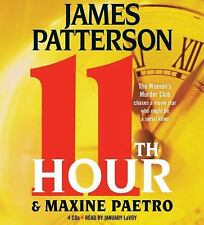 New Audio Book 11th Hour by James Patterson Maxine Paetro (2012, CD, Abridged)