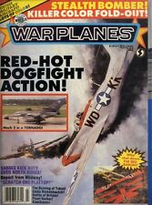 WARPLANES MAGAZINE #23 WHO SHOT DOWN THE RED BARON, MACH 2 IN A TORNADO