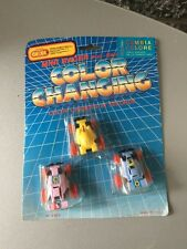 VINTAGE 80s# MICRO JET CAR CARS COLOR CHANGING# TECHNO GIODI MOSC SIGILLAT