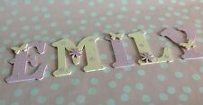 Custom Wooden Children 9cm Letter Alphabet Wall Door Any Name/Colour Boys Girls