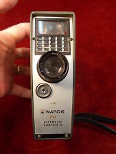 #122 ESTATE FIND, RARE MONTGOMERY WARD'S 711 AUTOMATIC ELECTRIC 8mm MOVIE CAMERA