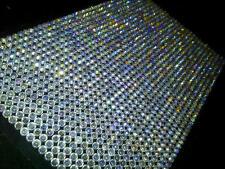 CraftbuddyUS1500 Bulk Sheet 5mm Self Adhesive AB Clear Rhinestone Gems Craft