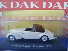 Die cast 1/43 Rosengart Super Traction 1939 by Ixo