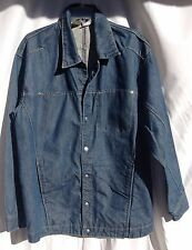 Levis Engineered Jacket Mens Medium 4 Pocket Jean Motorcycle Trucker #1411
