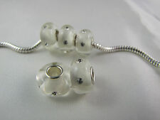 MURANO GORGEOUS GLASS BEAD LAMPWORK FOR EUROPEAN STYLE CHARM BRACELETS  - RB 005