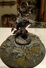Rackham Confrontation Wolfen of Yllia Asgarh, Pack-Leader painted very high  oop