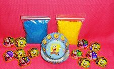 SpongeBob,Cupcake Kit,Rings,Sprinkles,Bake Cups,Wilton,415-5130,Blue/Yellow