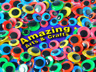 500 Wiggle Googly Wiggly Eyes with Coloured Backgrounds, Asst sizes and colours