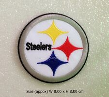 Patch Pittsburgh Steelers Embroidered Sew Iron on Patch NFL Football Logo DIY