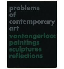 1948 Paul Rand SIGNED copy of GEORGES VANTONGERLOO Problems of Contemporary Art