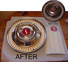 Studebaker 1962 Lark Vinyl Inserts for full wheel cover