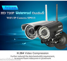 Sricam SP013 720P H.264 Wifi 1.0 MP ONVIF Infrared IP Camera Motion Detection