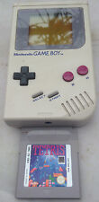 GAMEBOY Original 1989 Model. With Tetris, Serial: G26279052: Good working order