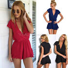 New Sexy Women's Ladies Playsuit Bodycon Party Jumpsuit&Romper Trousers Clubwear