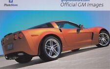"2006 CORVETTE ""GM PHOTO STORE""   ORIGINAL  4"" X 6""  CARD"