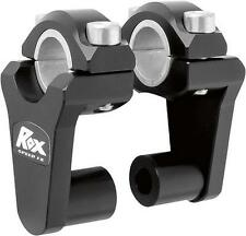 Rox Black Universal Elite 2 Inch Pivoting Risers For 7/8 & 1 1/8 Handlebars
