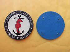 TOPPA O PATCH MARINA MILITARE - 5° GRUPPO ELICOTTERI