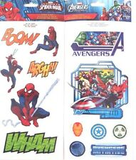 Marvel Avengers Assemble Ultimate Spider-Man 13 Window Decals Stickers NEW