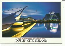 Samuel Beckett Bridge & The Convention Centre , Dublin City - John Hinde Ltd.