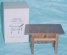 Concord doll house Miniatures Table, opening drawer ( #2171) New in Box