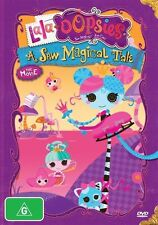 Lala-Oopsies A Sew Magical Tale NOT Sealed DVD Rating G Kids R4 Free Shipping