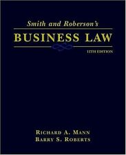 Smith And Roberson's Business Law by Richard A Mann / Smith Roberson