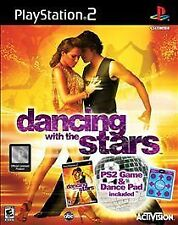 Dancing With The Stars Includes Dance Pad PlayStation 2 (Disk and Case Only) #..