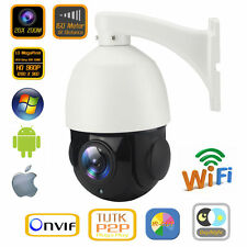 20X Zoom Wireless WiFi High Speed Dome PTZ IP Camera IR HD 960P 1.3MP Pan Tilt