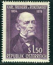 Österreich 1954 Michel Nr. 997 150. Geburtstag von Karl Freiherr von Rokitansky