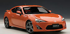 AUTOART Toyota 86 GT Asian Version RHD Orange Metallic 1:18 **New Stock**