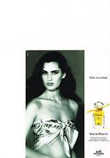 PUBLICITE  ADVERTISING  1994   HERMES   chic à la folie  CALECHE  soie de parfum