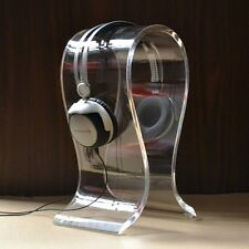 Headphone Stand U Shape Acrylic For Most Large Size Headphones