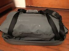 Patagonia WeatherShed Duffel Bag Gray Deluge DWR highly water-resistant 67L Boat