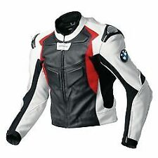 BMW Sports Racing Motorbike Cowhide Leather Jacket Motorcycle Biker Protection